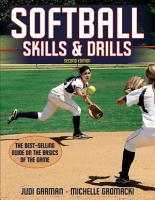 Softball Skills   Drills PDF
