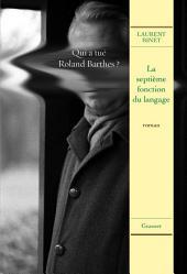 La septième fonction du langage: roman