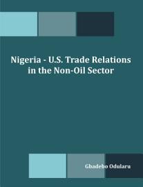 Nigeria   U S  Trade Relations In The Non Oil Sector
