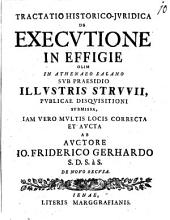 Tractatio hist. iur. de executione in effigie