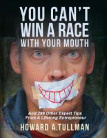 You Can t Win a Race With Your Mouth PDF