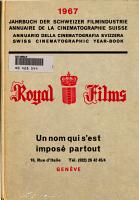 Jahrbuch der schweizer Filmindustrie PDF