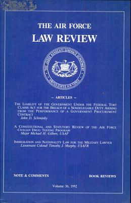 The Air Force Law Review