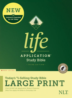 NLT Life Application Study Bible  Third Edition  Large Print  Red Letter  Hardcover  Indexed  PDF