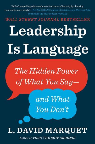 Download Leadership Is Language Book