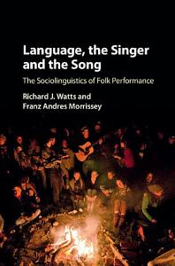 Language  the Singer and the Song PDF