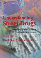 Understanding Street Drugs PDF