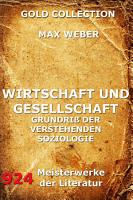Wirtschaft und Gesellschaft PDF