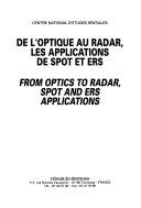 Download De l optique au radar  les applications de Spot et Ers Book