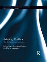 Adapting Chekhov PDF
