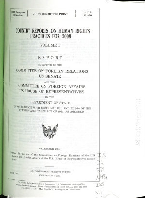 Country Reports on Human Rights Practices PDF
