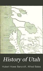 History of Utah: 1540-1886