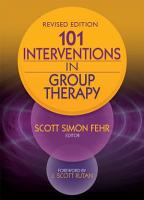101 Interventions in Group Therapy  Revised Edition PDF