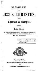 De navolging van Jezus Christus