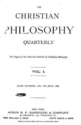 The Christian Philosophy Quarterly PDF