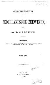 Geschiedenis van het Nederlandsche zeewezen: Deel 1