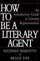 How To Be A Literary Agent PDF