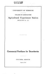 Commercial Fertilizers for Strawberries