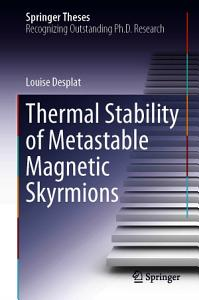 Thermal Stability of Metastable Magnetic Skyrmions