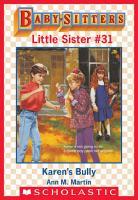Karen s Bully  Baby Sitters Little Sister  31  PDF