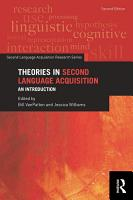 Theories in Second Language Acquisition PDF