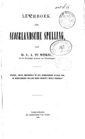 Leerboek der Nederlandsche spelling