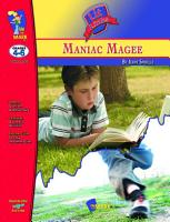 Maniac Magee Lit Link Gr  4 6 PDF