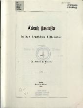 Tadeuss Kosciussko in der deutschen Litteratur