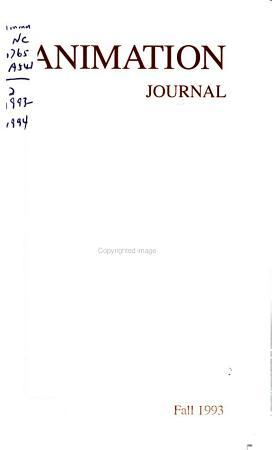 Animation Journal PDF