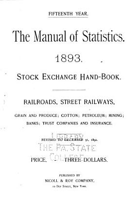 The Manual of Statistics PDF