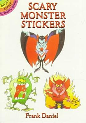 Scary Monster Stickers PDF