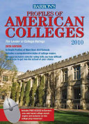 Profiles of American Colleges PDF