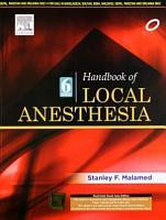 Handbook of Local Anesthesia  6 e PDF