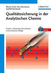 Qualit  tssicherung in der Analytischen Chemie PDF