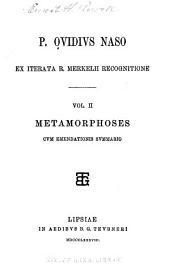 Metamorphoses, cvm emendationis svmmario