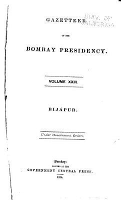 Gazetteer of the Bombay Presidency  Bij  pur PDF