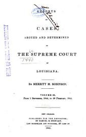Louisiana Reports: Cases Argued and Determined in the Supreme Court of Louisiana, Volume 48