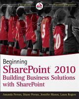 Beginning SharePoint 2010 PDF