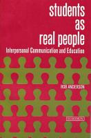 Students As Real People PDF