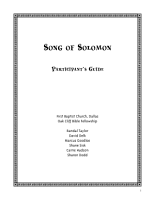 Song of Solomon PDF