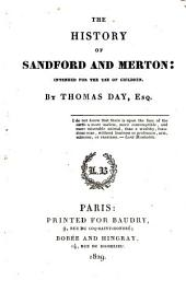 The history of Sandford and Merton: intended for the use of children