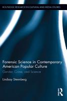 Forensic Science in Contemporary American Popular Culture PDF