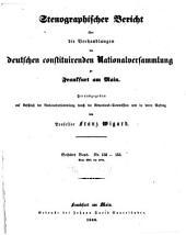 Stenographischer Bericht über die Verhandlungen der Deutschen consituirenden Nationslversammlung zu Frankfurt am Main: Band 6