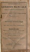 Cornelii Schrevelii Lexicon manuale gr  co latinum et latino gr  cum PDF