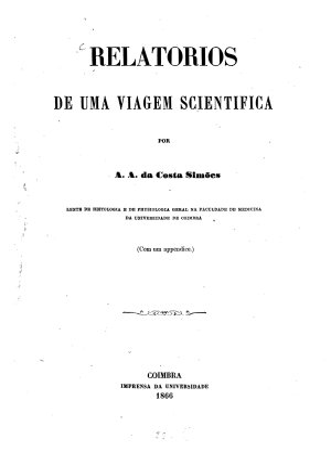 Relatorios de uma viagem scientifica PDF