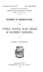 Water-supply and Irrigation Papers of the United States Geological Survey: Issues 138-144