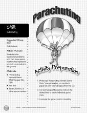 Subtracting--Parachuting Game