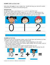 Number Line 0-10 by Karen's Kids