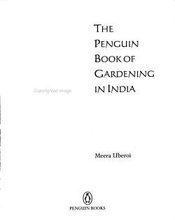 The Penguin Book of Gardening in India PDF