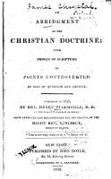 An Abridgment of the Christian Doctrine PDF